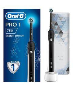 ORAL-B PRO 750 CA black + Putna torbica 1 komad