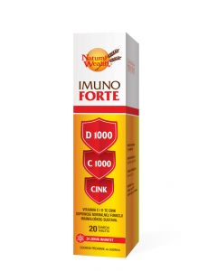 Natural Wealth Imuno Forte D 1000    C 1000   Cink 20 šumećih tableta