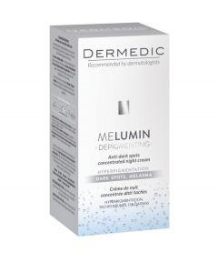 DERMEDIC MELUMIN koncentrirana noćna krema protiv tamnih mrlja 55 ml