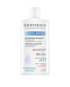 DERMEDIC CAPILARTE umirujući šampon za osjetljivo,iritirano vlasište 300 ml