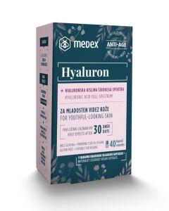 MEDEX HYALURON  40 kapsula