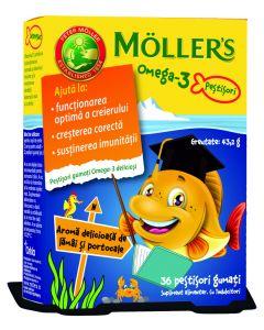 Mollers Omega 3 Ribice 36 bombona (ribica)