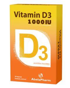 Vitamin D 1000 30 kapsula