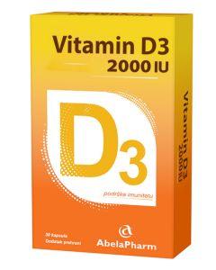 Vitamin D 2000 30 kapsula