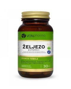 VonPharma Željezo & Vitamin C 30 kapsula