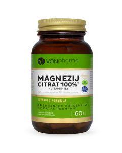 VONpharma MAGNEZIJ CITRAT 100% + VITAMIN B2  150 tableta