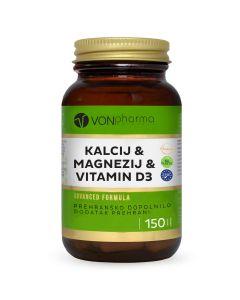 VONpharma Kalcij & magnezij & vitamin D3