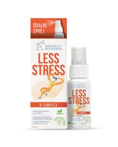 Less Stress B – complex u spreju  25 ml