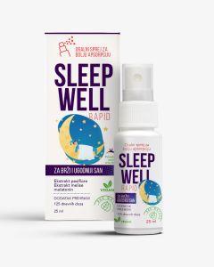 Sleep Well Rapid sprej 25 ml