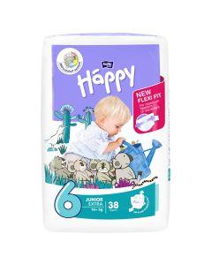 Bella Baby Happy dječje pelene Junior extra 38 kom