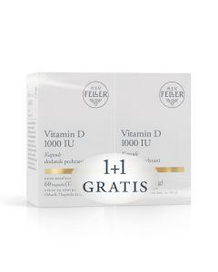 M.E.V. Feller® Vitamin D 1000 IU 60 kapsula