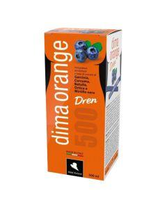 Vitapharm Dima orange dren, okus borovnica