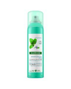 Klorane detoksikacijski suhi šampon s organskom vodenom metvicom