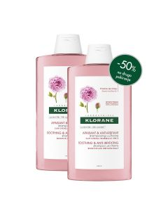 Klorane šampon s božurom, 400 ml