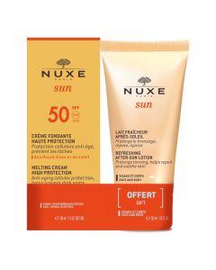 Nuxe topiva krema za sunčanje za lice, SPF 50  50 ml