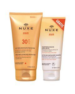 Nuxe Sun mlijeko za sunčanje za lice i tijelo, SPF 30 150 ml