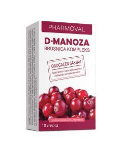 Pharmoval D-manoza brusnica kompleks, vrećice