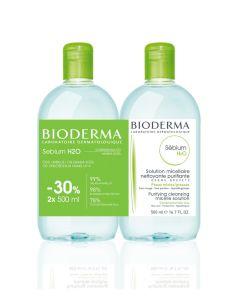 Bioderma Sebium H2O, 500 ml bočica