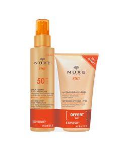Nuxe topivi sprej za visoku zaštitu kože od sunca SPF 50 150 ml