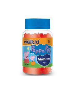 Wellkid Peppa Pig Multi-vits 30 žele tableta