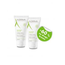 A-Derma Krema za ruke Duo Pack