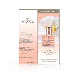 Nuxe multikorektivna gel krema, 40 ml + Čudesno suho ulje Florale, 10 ml