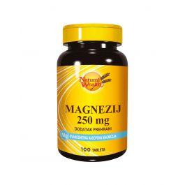 Natural Wealth Magnezij 250 mg
