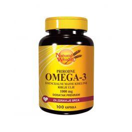 Natural Wealth Prirodne Omega -3 esencijalne masne kiseline