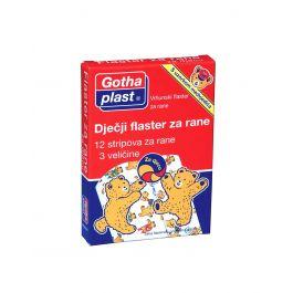 Gothaplast Dječji flaster za rane, 3 veličine