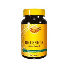 Natural Wealth Brusnica s vitaminom C