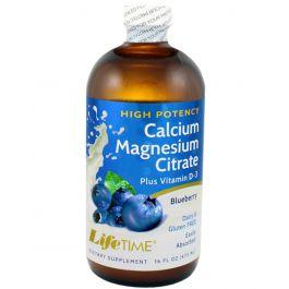 LifeTime Tekući kalcij magnezij citrat borovnica