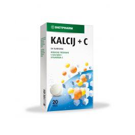 Dietpharm Kalcij + C