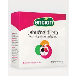 Jabučna dijeta, 20 šumećih tableta