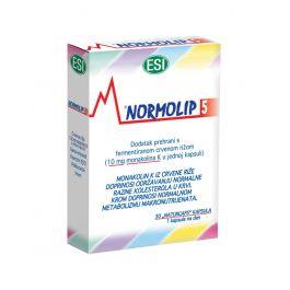 "Esi Normolip® 5 ""naturcaps"" kapsule"