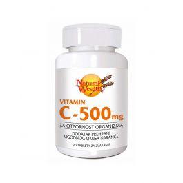 Natural Wealth VITAMIN C-500 mg tablete za žvakanje