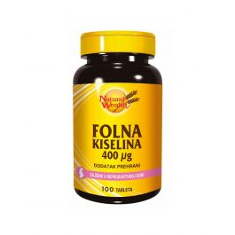 Natural Wealth Folna kiselina 400 µg