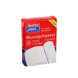 Gothaplast Comfort Flaster za osjetljivu kožu, 2 veličine