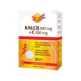 Natural Wealth Kalcij 300 + C 500
