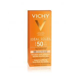 Vichy Ideal Soleil Dry Touch BB fluid za lice SPF 50
