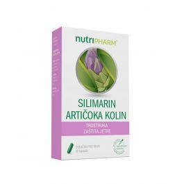 Nutripharm® Silimarin Artičoka Kolin