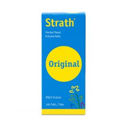 STRATH plazmolizirani biljni kvasac, 100 tableta