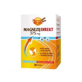 Natural Wealth Magnezij Direkt 375 mg + B + C