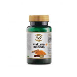 HUG Kurkuma 95% ekstrakt & BioPerine