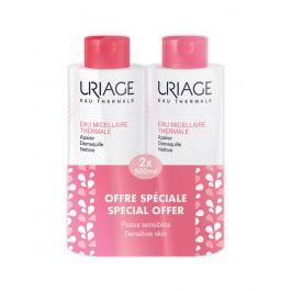 Uriage Duo pakiranje Micelarna voda za čišćenje osjetljive kože sklone crvenilu