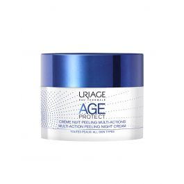 Uriage Age Protect Multi Action Peeling noćna krema