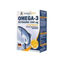 Pharmavital Omega-3 1000mg+Vitamin E