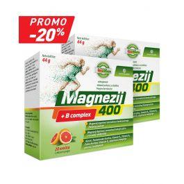 Magnezij 400 + B complex promo pakiranje, -20%