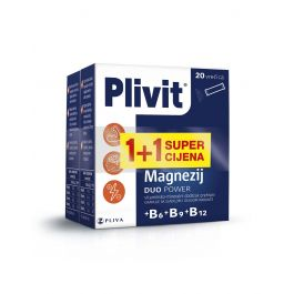 Plivit Magnezij Duo Power 1+1 promo