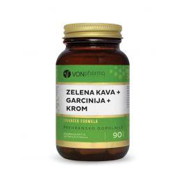 VONpharma Zelena kava + garcinija + krom