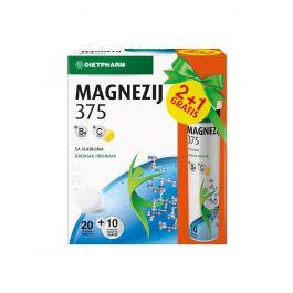 Dietpharm Magnezij 375, 10 šumećih tableta gratis